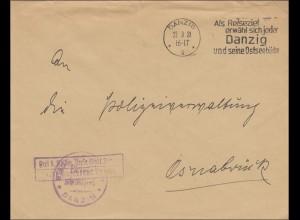 Danzig: Frei durch Ablösung Reich: Jugendamt nach Osnabrück 1931