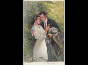 Oberschlesien: Ansichtskarte Gleiwitz 1921