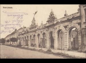 Polen: Ansichtskarte von Brest-Kitowsk 1916 nach Duisburg