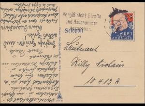Feldpost II. Weltkrieg: 1940 Feldpostkarte an FPNr. 10 419A