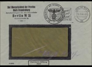 Frei Ablösung Reich, 1944, Jugend aufs Meer, Oberpräsident Mark Brandenburg