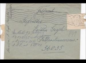 Feldpost II. Weltkrieg: Kempten and FPNr. 56 035, Ungar im Lazarett