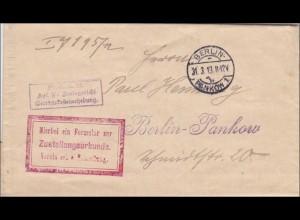 Gerichtskostenerhebung Berlin 1913, Pankow