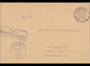 Badisches Bezirksamt Pforzheim 1930 nach Berlin - Schmiede Berufsgenossenschaft