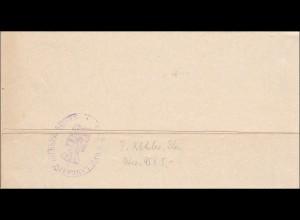 Hildburghausen 1909 vom Herzoglichen Landrat als Drucksache