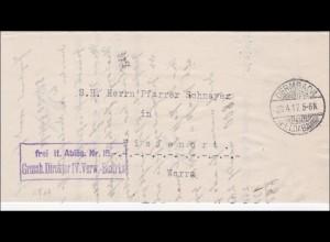 Grossherzoglicher Direktor Dermbach/Feldabahn 1918 nach Tiefenort Werra
