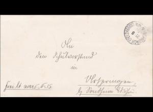 Dermbach/Feldabahn 1900 nach Ostheim