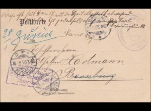 Herzogliches Amtsgericht Dessau 1905 nach Bernburg