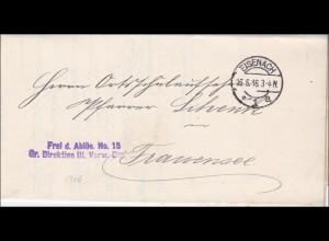 Eisenach 1916 nach Frankensee