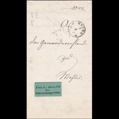 Untersuchungsrichter Gotha 1875