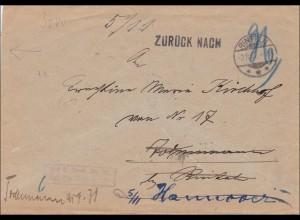 Rinteln 1907 nach Hannover und zurück