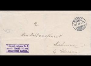Amtsgericht Rostock 1909 nach Niehussen/Buchholz