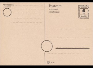 Französische Zone: Ganzsache - prepaid, P791 II