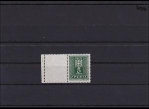 Deutsche Bes. Serbien MiNr. D 19 L I, ** postfrisch