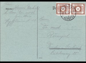 SBZ: Postkarte Dresden 1945
