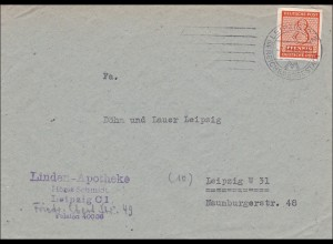 SBZ: Brief aus Leipzig 1945