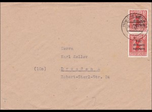 SBZ: Brief aus Dresden 1949