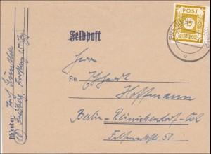 SBZ: Brief aus Freiberg Sachsen nach Berlin, MiNr. 47A