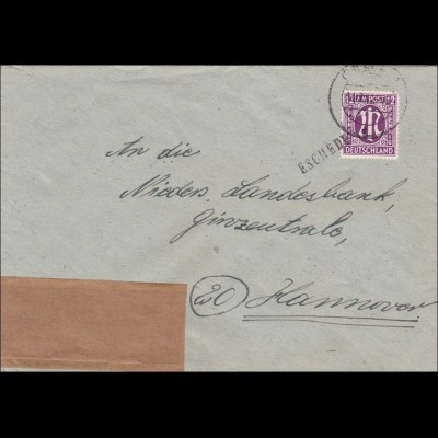 BiZone: Brief von Eschede nach Hannover 1945