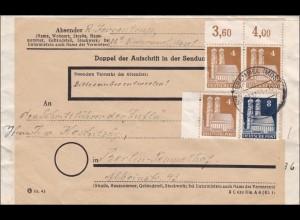 BiZone: Brief von Niederemmel nach Berlin 1950