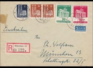 BiZone: Einschreiben 1949 von München