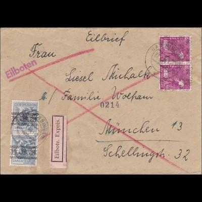BiZone: Eilboten von Bad Kissingen nach München 1948