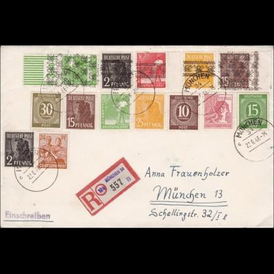 BiZone: Einschreiben München 1946