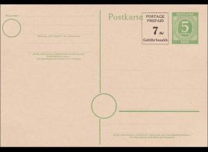 BiZone: Ganzsache - Postkarte - P959