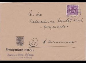 BiZone: Brief aus Gifthorn nach Hannover