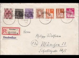 BiZone: Einschreiben München 1948