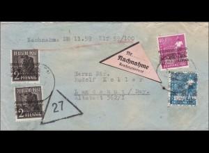 BiZone: Nachnahme aus München nach Landshut