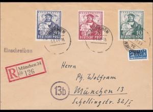 BiZone: Einschreiben aus München 1949
