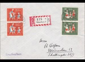 München 1957, Einschreiben
