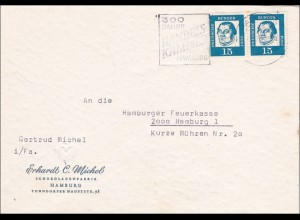 Brief von Hamburg