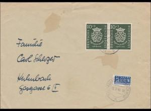 Brief von Reichenbach 1950 nach Kulmbach