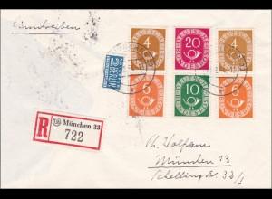 1954 Einschreiben aus München