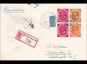 Einschreiben aus München 33, 1954