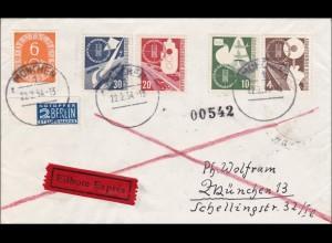 Eilboten Brief 1954 von München