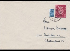 1951 Brief aus Bad Kissingen