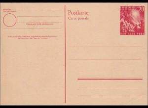 Ganzsache - Postkarte