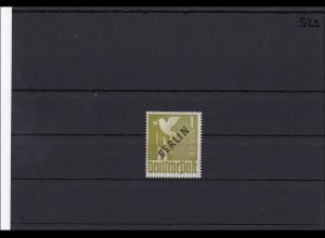 Berlin MiNr. 17a,** postfrisch, in der a Farbe, signiert BPP Schlegel