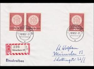 Einschreiben aus München 1957, MeF