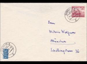 Brief aus Bamberg 1952 nach München