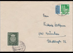 Brief aus Bad Kissingen 1951