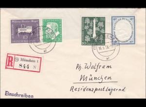 Einschreiben aus München 16.5.1956