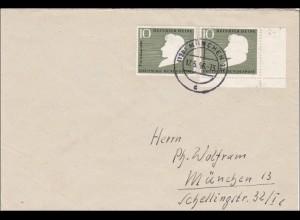 Einschreiben aus München 17.5.1956