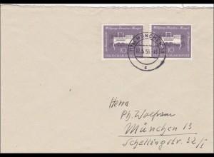 Einschreiben aus München 1956, MeF