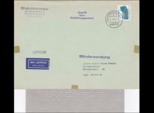 Blindenhörbücherei Blindenschule Blindensendung-Luftpost Geprüft 1990 mit Inhalt