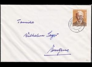 Brief von 1958 aus Engen