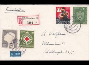 Einschreiben aus München 1953